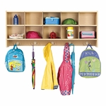 Young Time® 10-Section Wall Locker Unit [7104Y-JON]