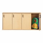 Young Time® Four-Section Stackable Lockers with Doors [7107Y-JON]