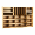 Young Time® Sectional Cubby Storage Unit without Trays [7030Y-JON]