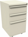 Zapf® 19'' D Mobile Pedestal Box Box File - Putty [ZSMPBBF19-UT-FS-MVL]