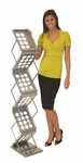 ZedUP 1 Collapsible Literature Rack [ZD-1-B-FS-OR]