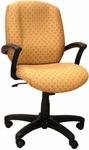 Zoey 26'' W x 22'' D x 32'' H Adjustable Height High-Back Chair [E-46981-FS-EOF]