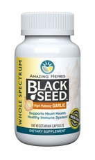 Black Seed Garlic Capsules