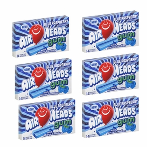 Air Heads Gum Blue Raspberry 12 Count