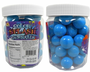 Blue Gumballs Color Splash 49 Count