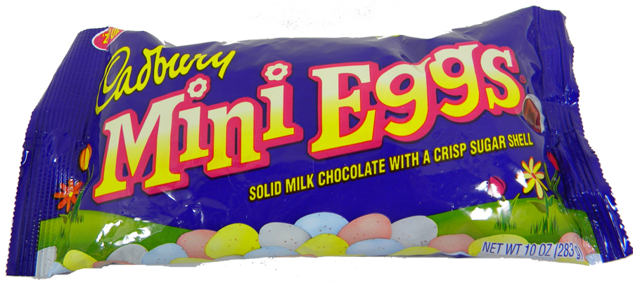 cadbury mini eggs milk chocolate crisp shell 10oz bag blaircandy com