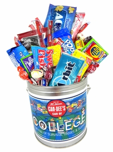 Can Of College Fun Treats & Sweets