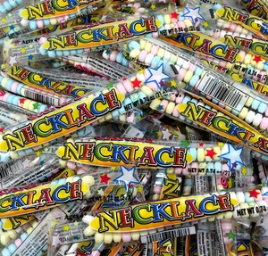 Candy Necklace 100 Count Wrapped 5lb