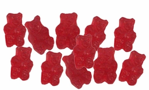 Cherry Gummy Bears 5lb