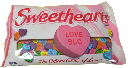 Create A Conversation Hearts Candy Frame This Valentine's Day!