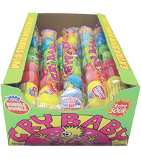 Cry Baby Sour Bubble Gum 36ct