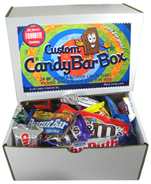 Assorted Candy Bars  (You Pick 24 Favorites)