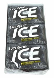 Dentyne Ice Sugarless Gum 9ct - Artic Chill