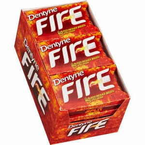 Dentyne Ice Sugarless Gum 9ct - Cinnamon Fire