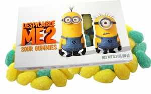 Despicable Me 2 Sour Gummy Candy 3.1oz