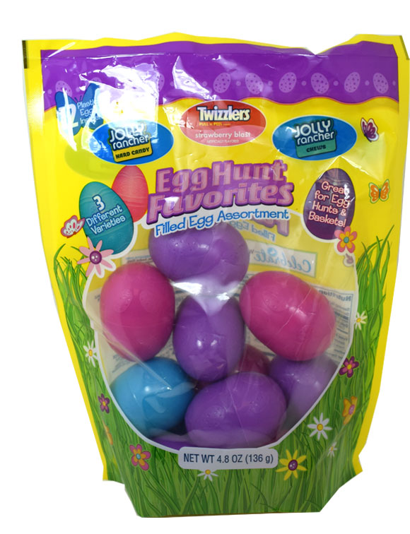 egg hunt favorites candy filled easter eggs 12ct blaircandy com