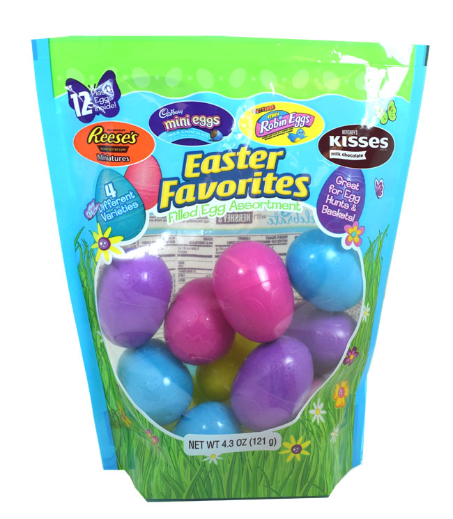Easter Favorites Candy Filled Eggs 12ct BlairCandy