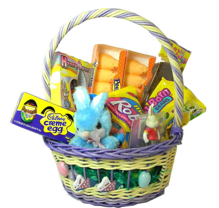 Filled Easter Candy Basket For Boys BlairCandy