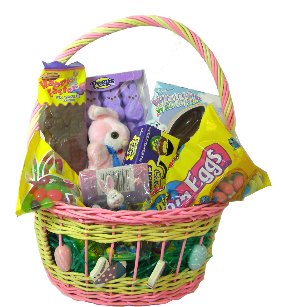 Filled easter candy basket for girls blaircandy negle Images