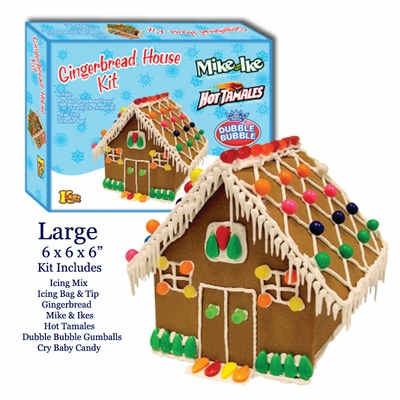 Five Steps To Icing Up The Perfect Gingerbread House Kits