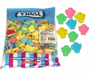 Gummi Easter Chicks Sugared 4.4lb Bag