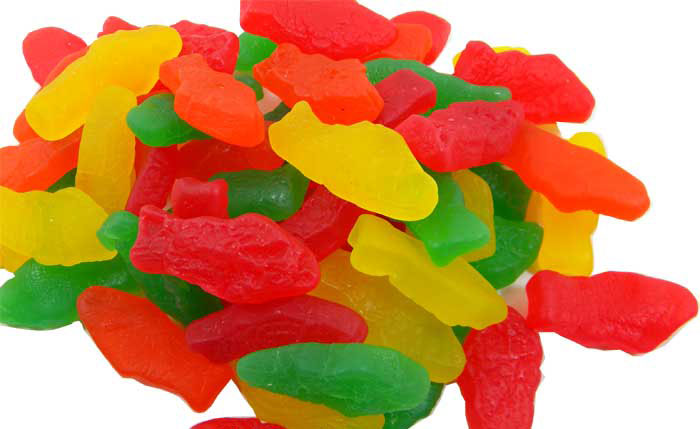 Gummi fish assorted bag for Gummy fish candy