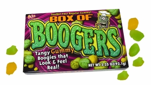 Gummy Boogers Candy 3.25oz