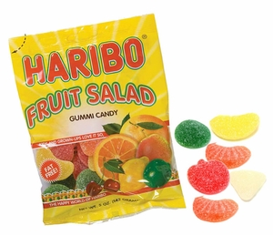 Haribo Fruit Salad Gummies 5oz Bag