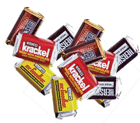 Hershey's Assorted Bars 120ct Snack Size