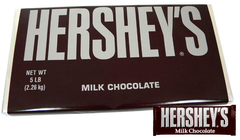 Hershey's Giant 5lb Milk Chocolate Bar: BlairCandy.com