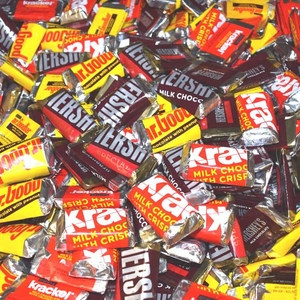 Hershey's Miniatures Assorted Candy Bars 25lb