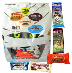 Hershey's Mummy Candy Bar Mix 125 Count