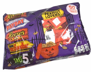 Hershey's Peanut Lovers Assorted Snack Size 50 Count