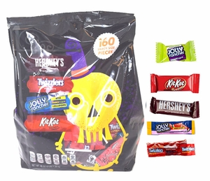 Hershey's Snack Size Mix 160 Count (Skeleton Bag)