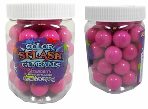 Hot Pink Gumballs Color Splash 49 Count