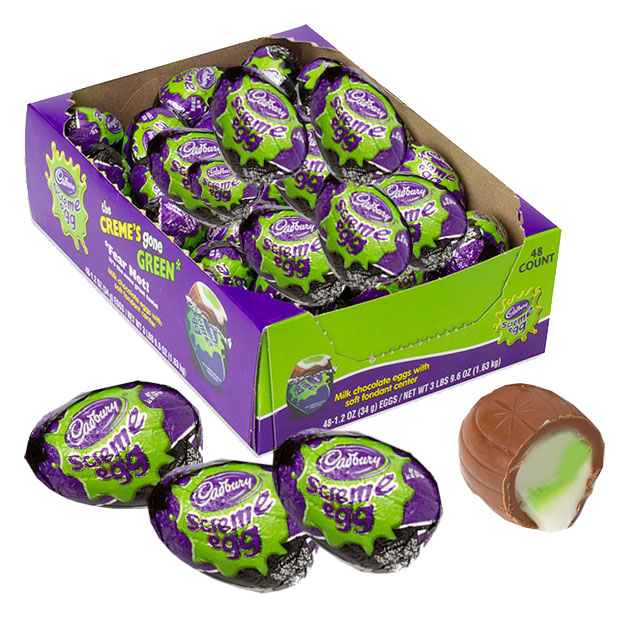 cadbury screme eggs halloween novelty candy blaircandycom
