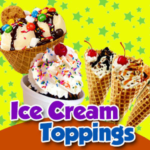 Ice Cream Toppings - Baking