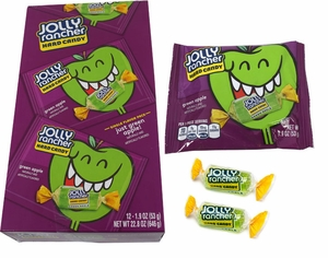 Jolly Rancher Green Apple Pieces 12 Count