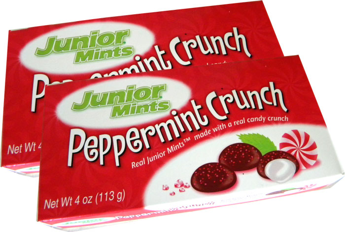 junior mints peppermint crunch christmas candy blaircandycom
