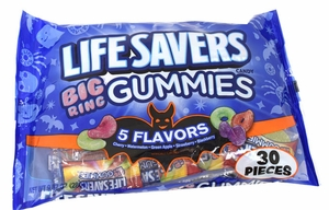 Life Saver Big Ring  Gummi 30 Count