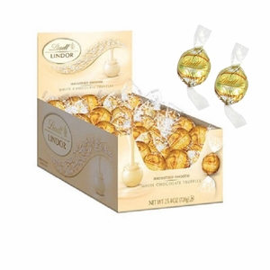Lindt Lindor White Chocolate Truffles 60 Count