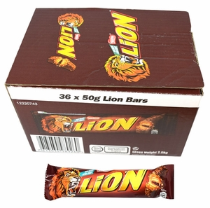 Lion Candy Bar 36 Count (UK)