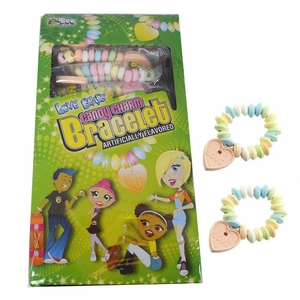 Love Beads Candy Charm Bracelets 48 Count