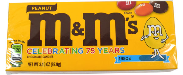 MampM Peanut Candy 34oz Theater Size Box BlairCandy