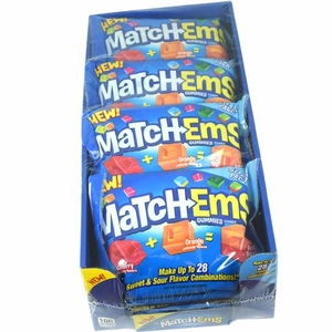MatchEm Gummy Candies 16 Count