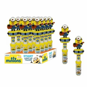 Minion Light Up Talker With Candy 12 Count