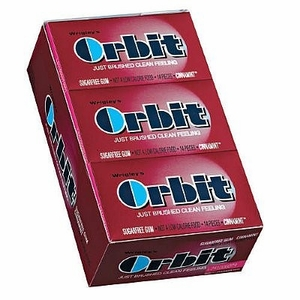 Orbit Sugarless Gum 12ct - Cinnamon