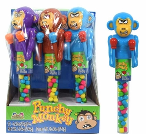 Punchy Monkey Toy With Candy 12 Count