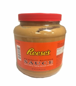 Reese's Peanut Butter Sundae Topping 4.5lb (Clear Jar)
