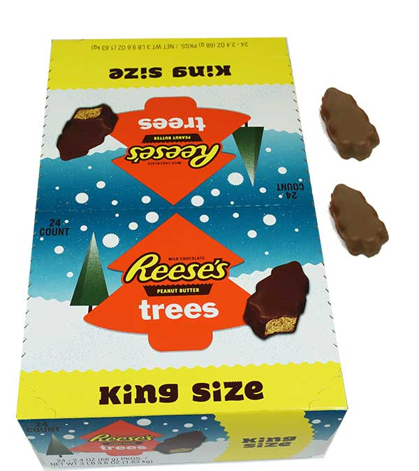 reeses peanut butter trees christmas candy blaircandycom